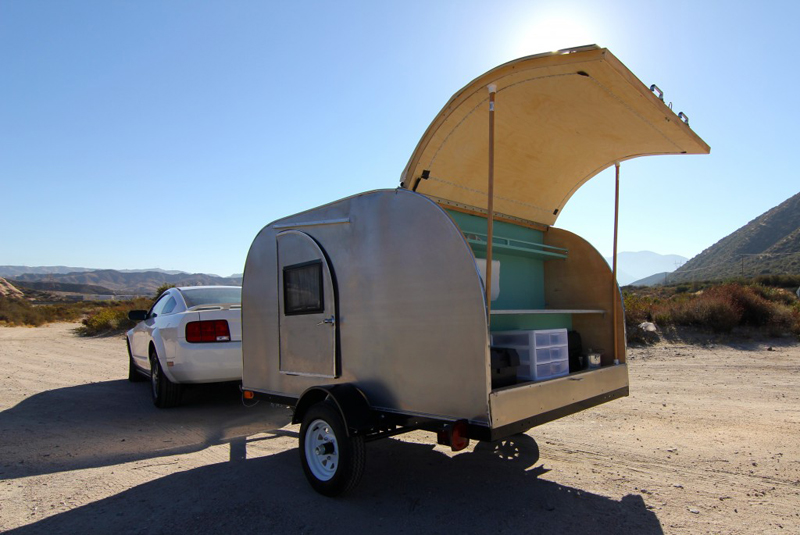 Fantastic DNM RV Custom Oregon Teardrop Trailers Camping Trailers Upgrades