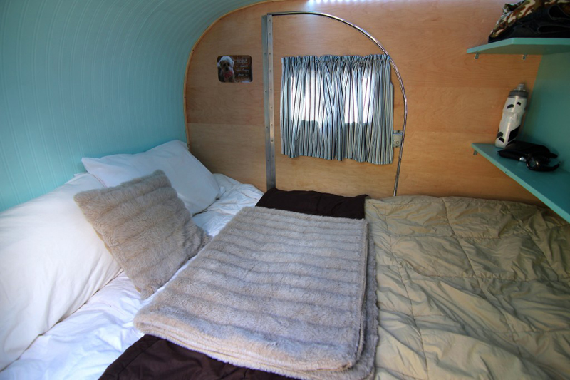 Teardrop Trailer Kit Interior