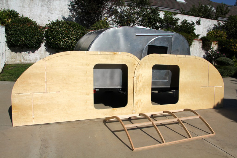 Teardrop Trailer Kit