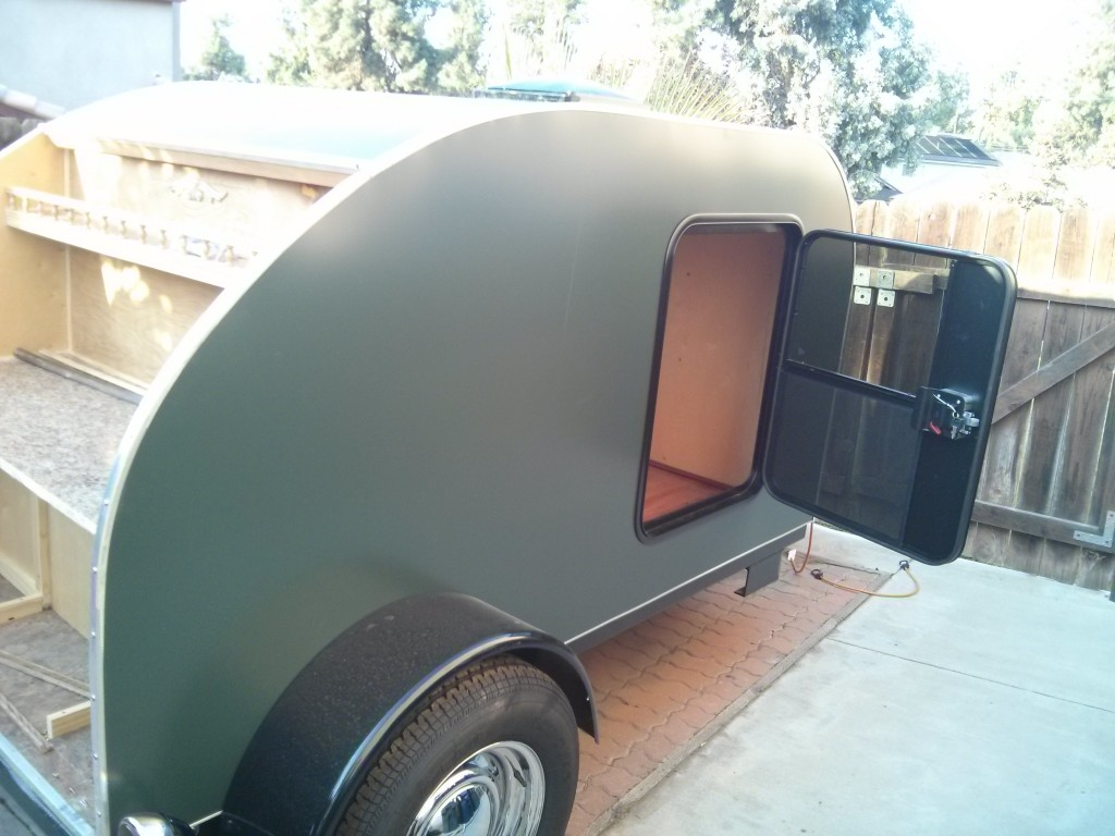 Teardrop Trailer Kit David