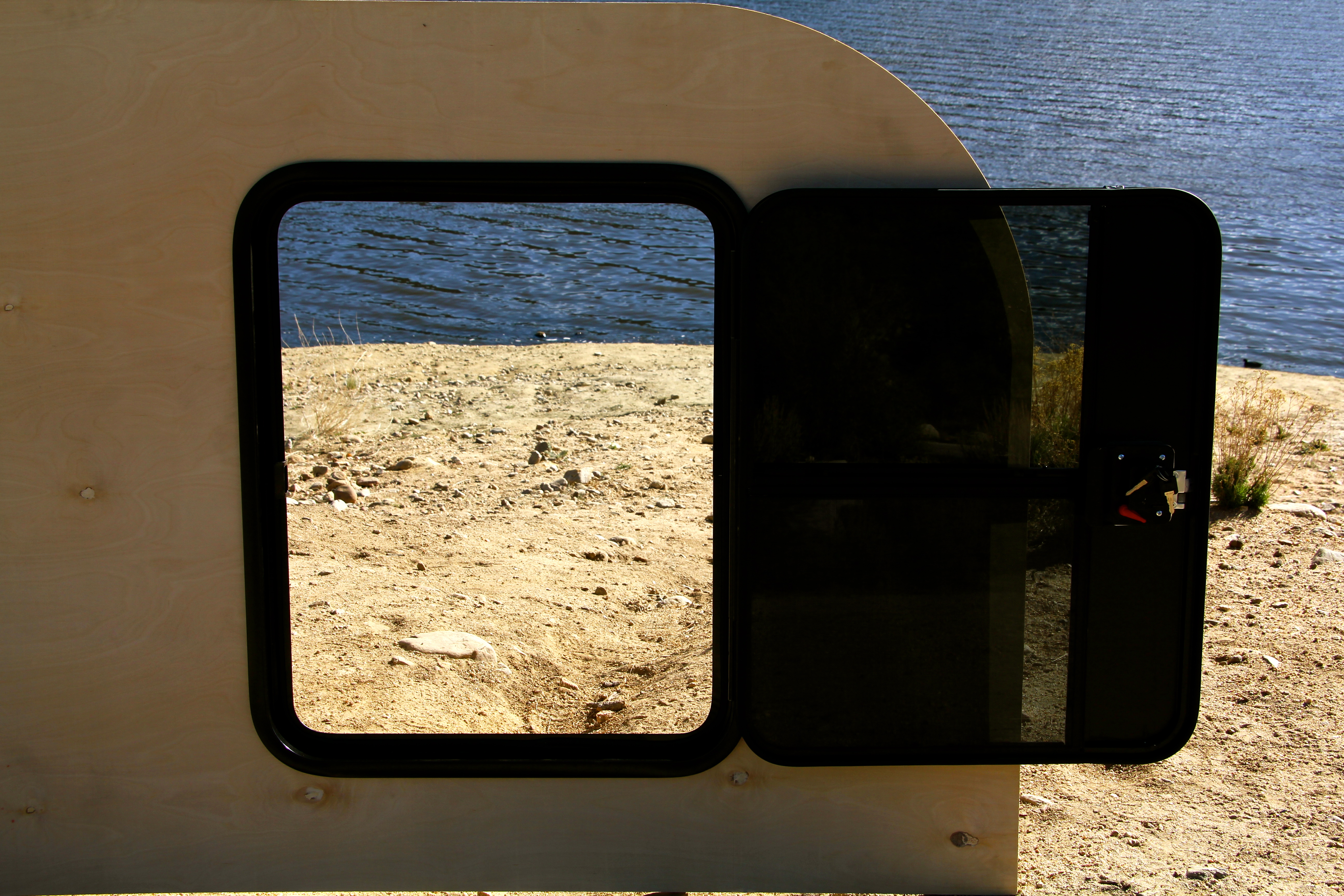 RV Teardrop Trailer Door (NEW!!) 26″ x 32″